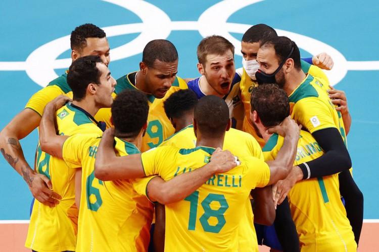 Vôlei: Brasil vence  Argentina de virada, em duelo emocionante (Foto: )