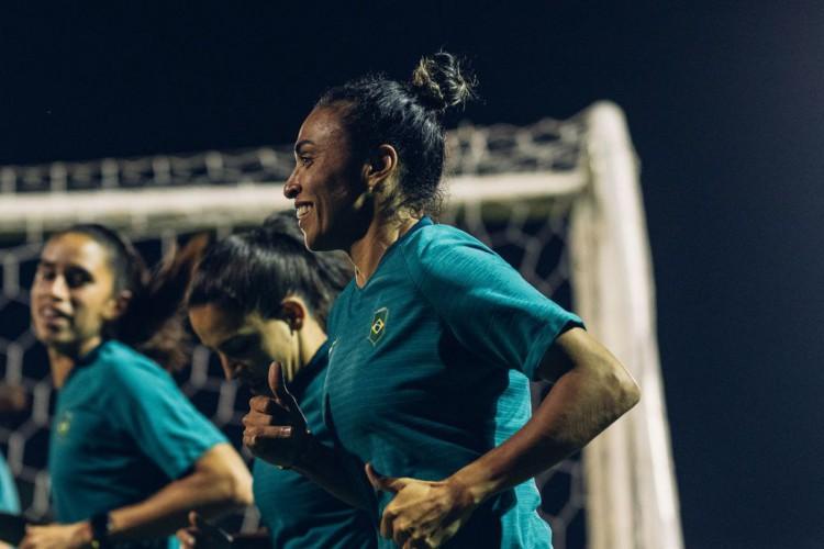 Mirando liderança do Grupo, seleção feminina pega Zâmbia na Olimpíada (Foto: )
