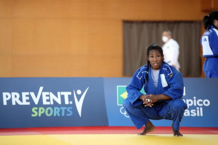 A judoca brasileira Ketleyn Quadros avançou às oitavas de final com vitória por W.O. (Foto: Divulgação/COB)