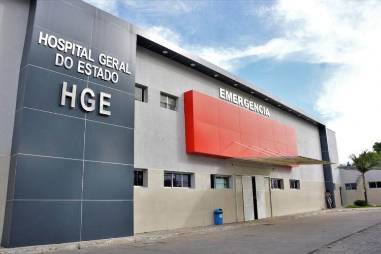 Menina estava internada desde o último dia 15 de julho, no Hospital Geral do Estado (HGE), localizado em Maceió (AL) (Foto: Divulgação/Carla Cleto/Governo do Estado de Alagoas)