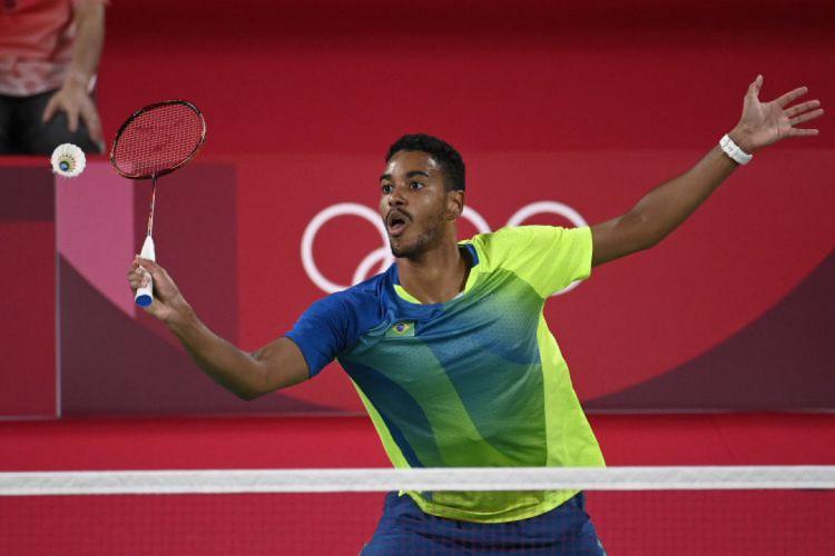 Ygor Coelho estreou com a vitória nos Jogos Olímpicos (Foto: Alexander NEMENOV / AFP)