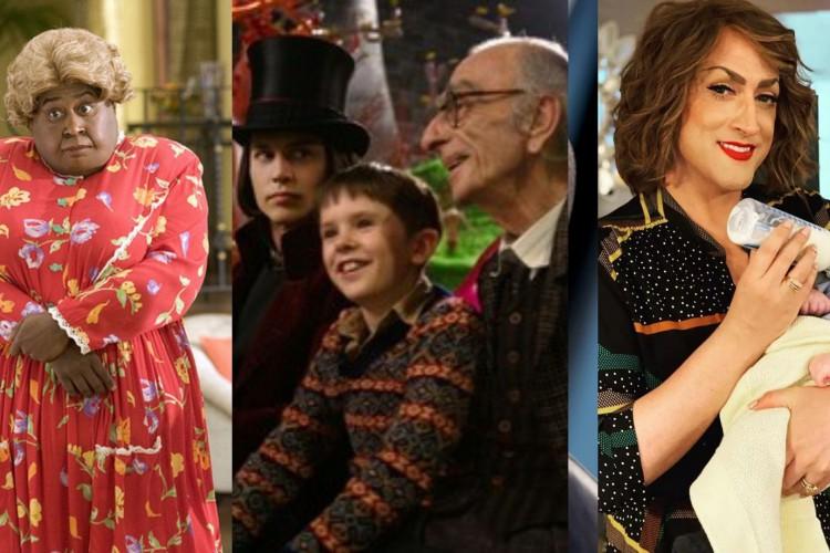 Vovozona, Joe e Dona Hermínia são avós marcantes do cinema (Foto: Divulgação)