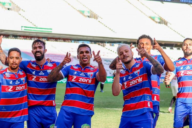 Fortaleza 1 a 0 Bragantino-SP, pela décima terceira rodada do Campeonato Brasileiro da Série A. (Foto: Leonardo Moreira/FEC)