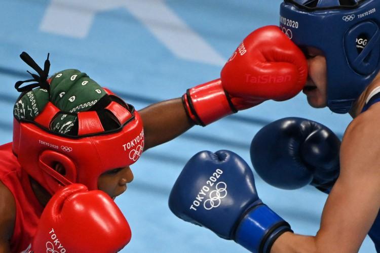 Boxe nas Olimpíadas de Tóquio: veja onde assistir ao vivo e programação com horário e dia das lutas dos representantes do Brasil e outros países (Foto: AFP)