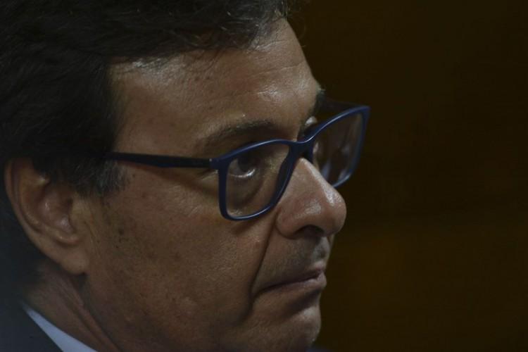Novo presidente da Embratur, Gilson Machado Neto, durante solenidade de posse. (Foto: Valter Campanato/Agência Brasil)