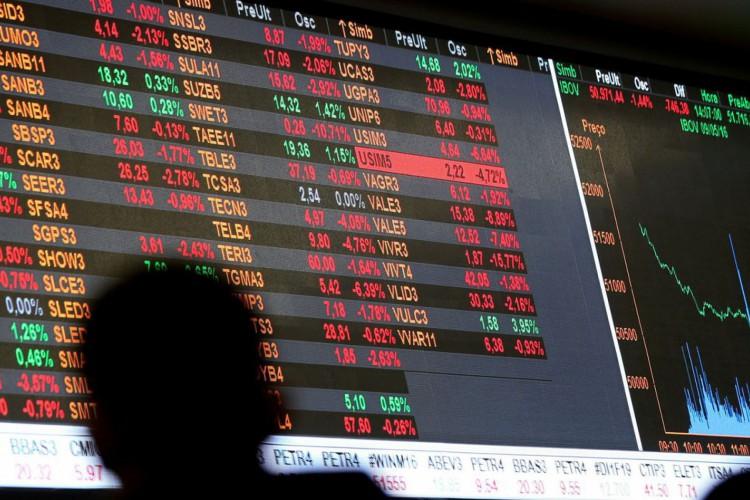 Bolsa cai com preocupações com variante delta e China (Foto: )