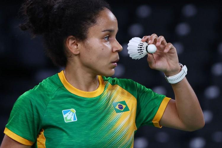 Badminton: Fabiana Silva perde para sino-americana e deixa Olimpíada (Foto: )