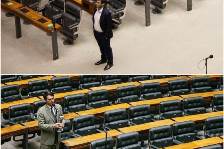 Após divulgar foto, Kim Kataguiri é comparado a Bolsonaro e viraliza nas redes sociais (Foto: Reprodução)