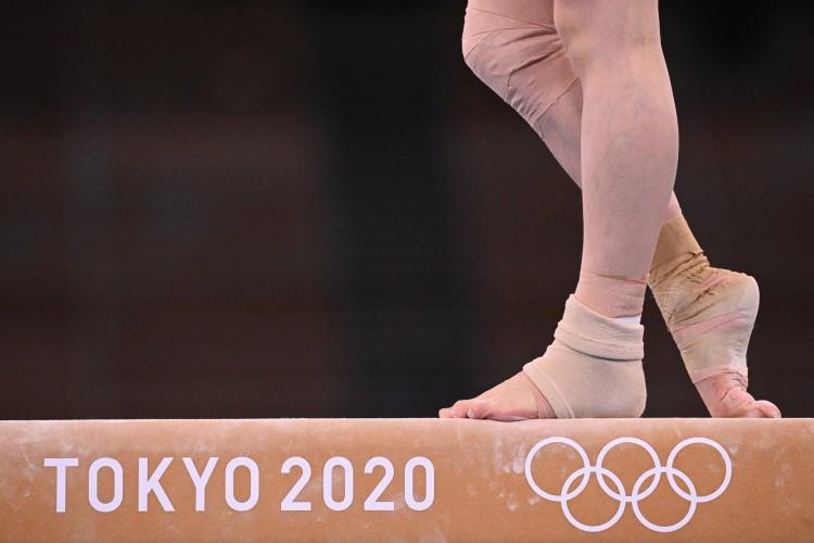 Ginástica nas Olimpíadas: veja onde assistir ao vivo e programação com horário e dia das provas dos representantes do Brasil e outros países (Foto: MARTIN BUREAU / AFP)