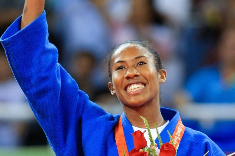 Judoca brasileira Ketleyn Quadros perdeu a repescagem do judô na Olimpíada de Tóquio contra a holandesa Juul Franssen, e não poderá disputar o bronze na modalidade (Foto: JONNE RORIZ / AE)