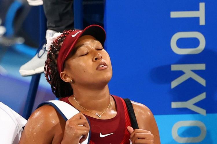 Naomi Osaka é eliminada do torneio de tênis da Olimpíada de Tóquio (Foto: )