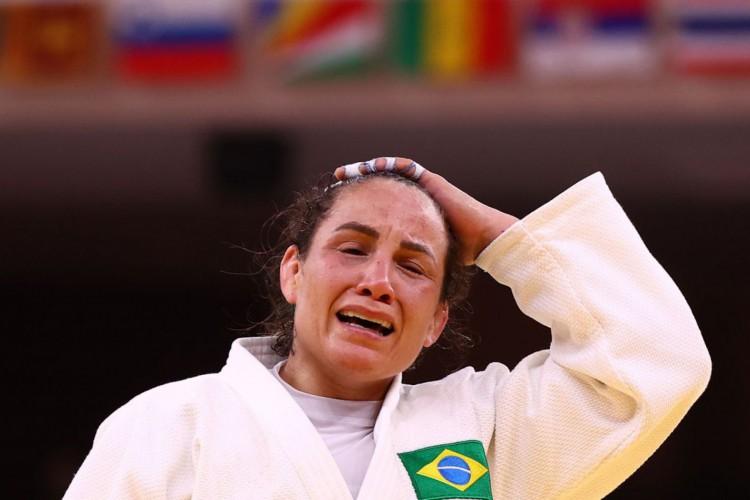 Em combate mais longo da Olimpíada, Portela é eliminada com polêmica (Foto: )