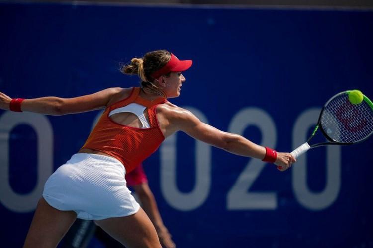 A atleta disputava uma vaga nas etapas finais do tênis feminino nos Jogos Olímpicos de Tóquio 2020  (Foto: Reprodução/Instagram)