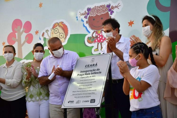 O equipamento contou com investimento de cerca de R$ 900 mil (Foto: Governo do Ceará/Reprodução )