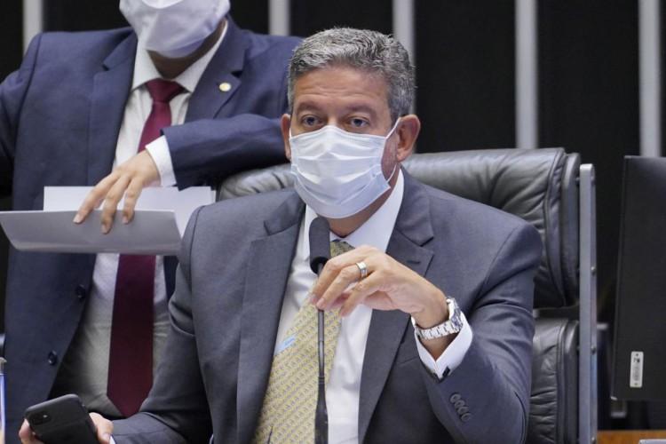 Votação de propostas. Presidente da Câmara, Arthur Lira (PP - AL) (Foto: Pablo Valadares/Câmara dos Deputados)