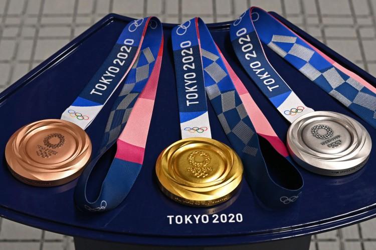 Olimpíadas de Tóquio: confira abaixo o quadro de medalhas completo, incluindo conquistas do Brasil (Foto: Tauseef MUSTAFA / AFP)