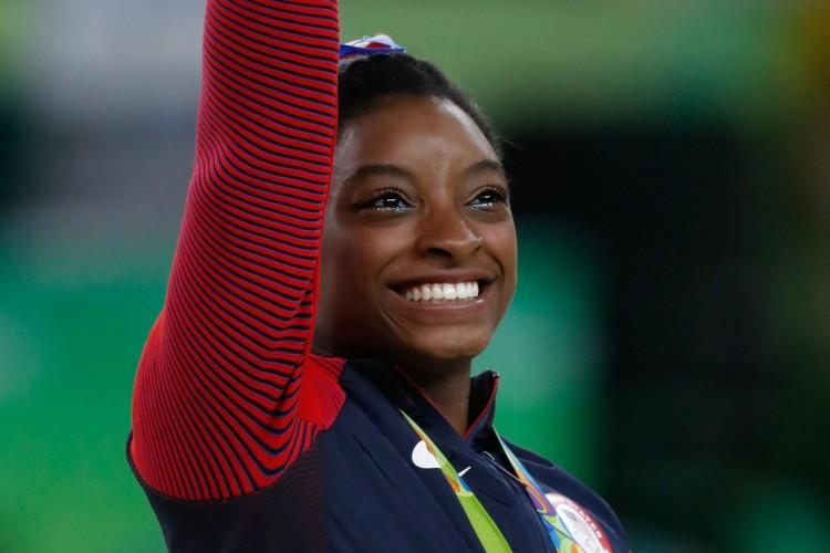 Simone Biles, ginasta dos Estados Unidos, apontou motivos de saúde mental para desistência da final individual na ginástica da Olimpíada de Tóquio (Foto: Fernando Frazão/Agência Brasil)