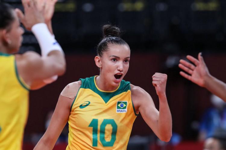 Buscando liderança do Grupo, Brasil enfrenta Japão no vôlei feminino (Foto: )