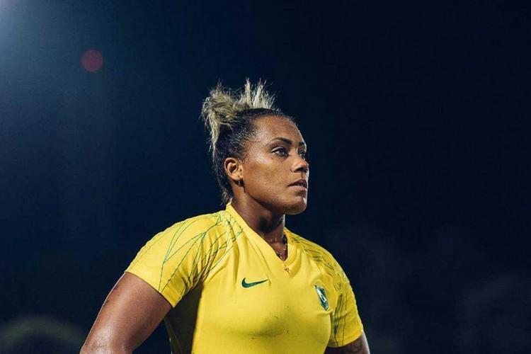 Bárbara, goleira da seleção brasileira de futebol feminino (Foto: CBF / Divulgação)