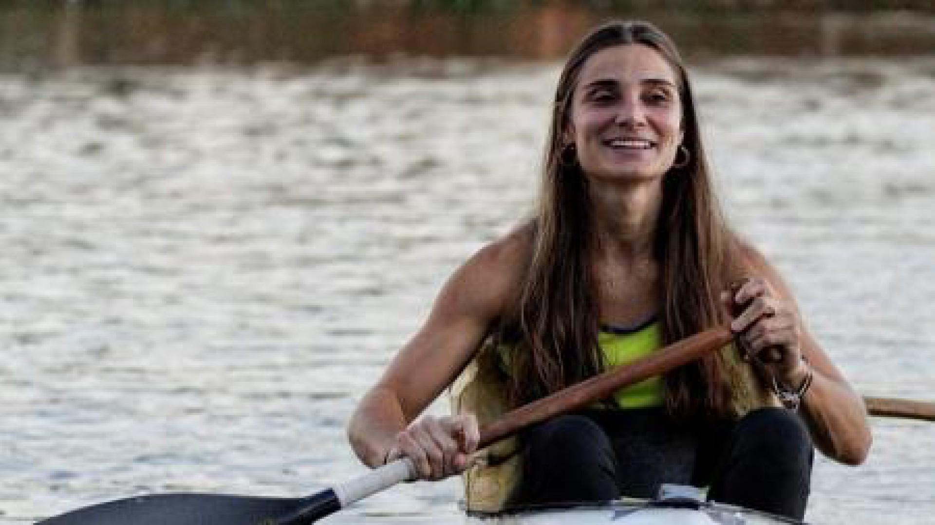 Atleta de canoagem paralímpica Andrea Pontes