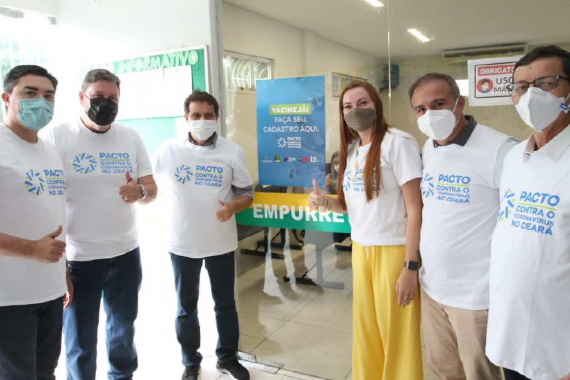 Pacto Contra o Coronavirus esteve nesta quarta-feira na Bacia Hidrográfica do Coreaú  (Foto: DIVULGAÇÃO)