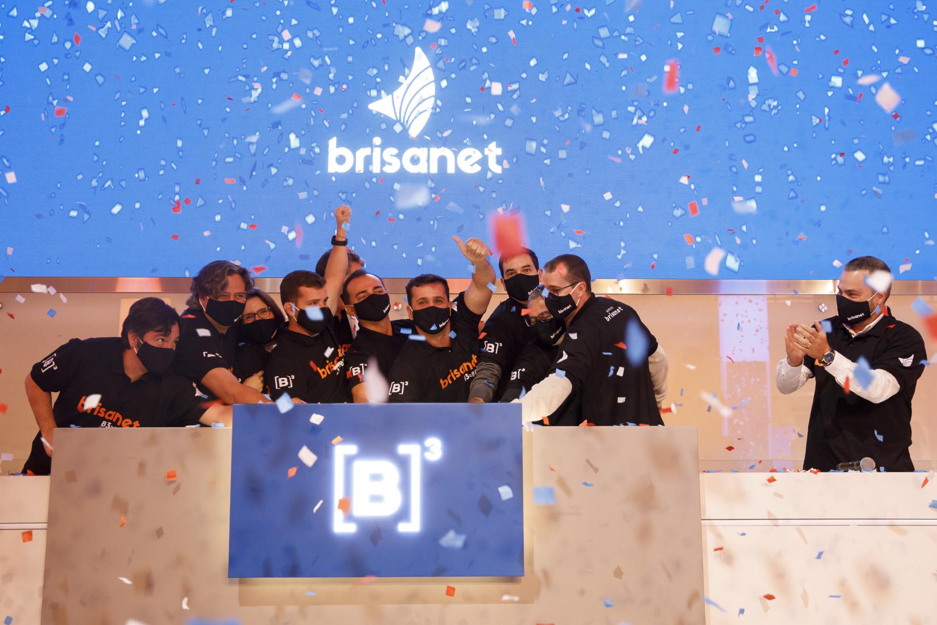 Brisanet estreou na B3 no dia 29 de julho (Foto: Cauê Diniz / B3)