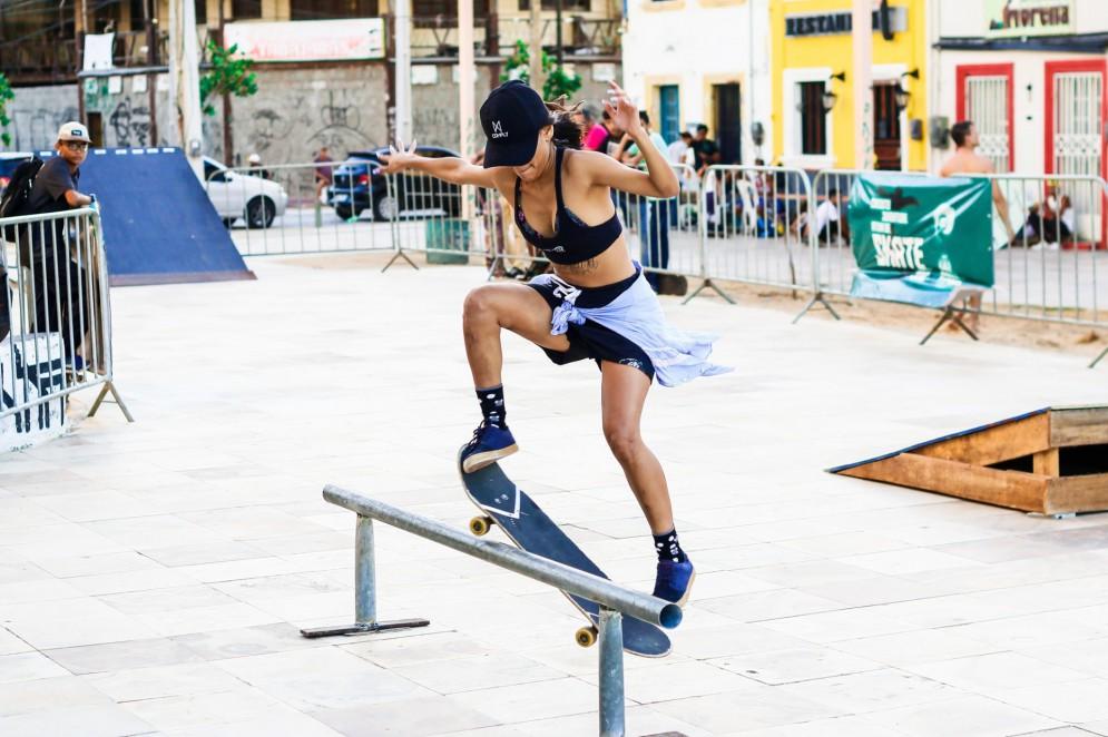 Além de esporte, andar de skate se tornou uma cultura nos espaços urbanos(Foto: Suzana Campos/ Rede Cuca)