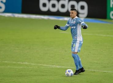 Felipe Alves será titular do Fortaleza no jogo deste domingo diante do Internacional, pelo Brasileirão Série A 2021; veja como assistir à transmissão ao vivo e a provável escalação