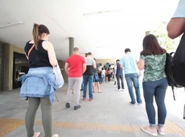 Provas do concurso da Pefoce foram realizadas neste fim de semana na Capital e algumas cidades do Interior cearense