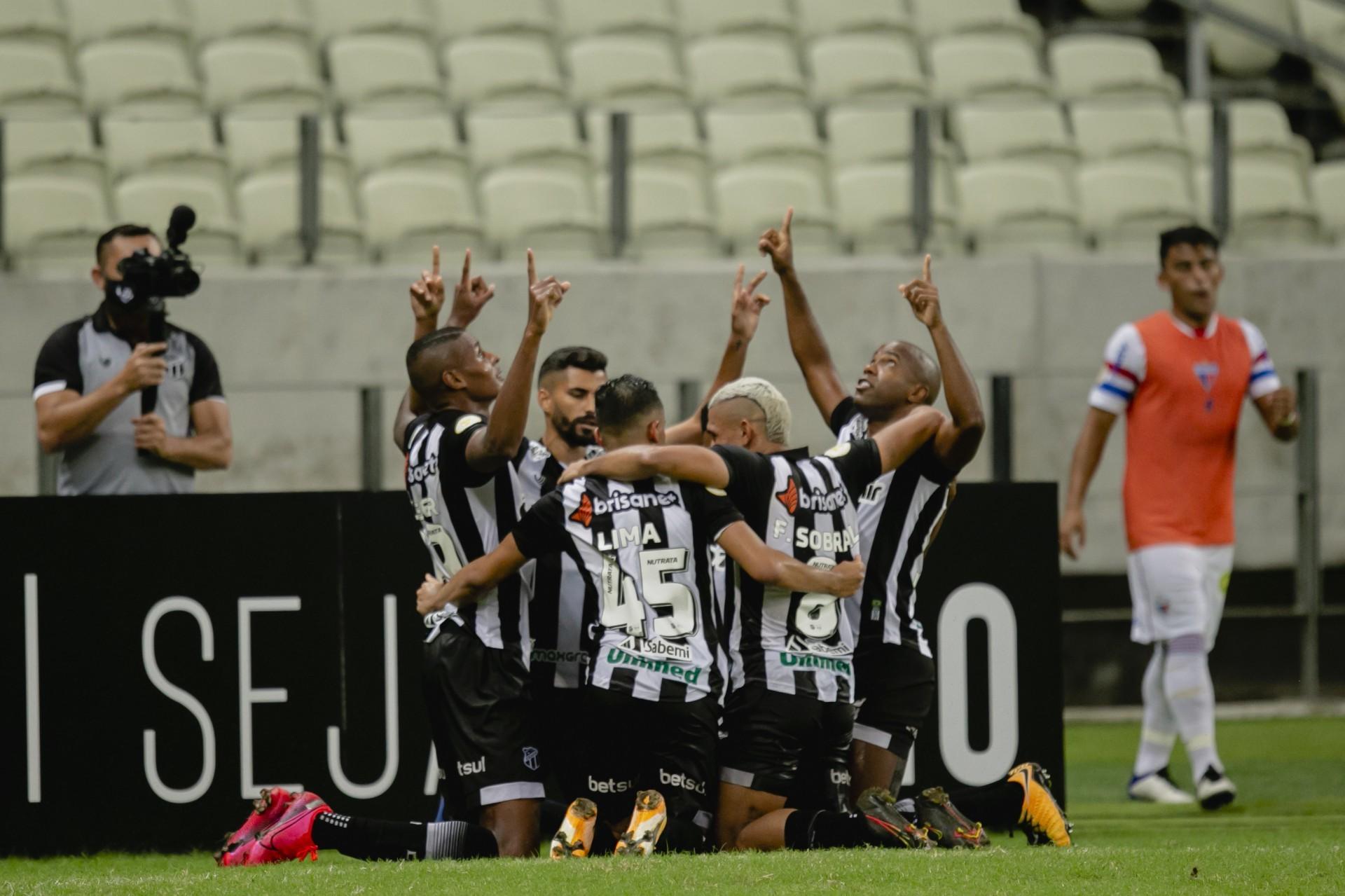 Ceará venceu o  Clássico-Rei pela primeira  vez na temporada 2021 (Foto: Aurelio Alves)