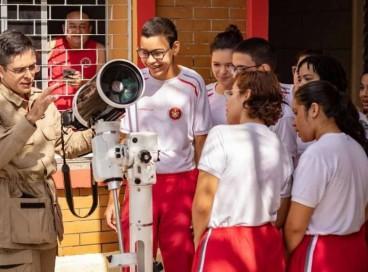 Por conta do desempenho positivo na OBA deste ano, dez alunos foram convocados para a pré- seleção para as Olimpíadas Internacionais de Astronomia