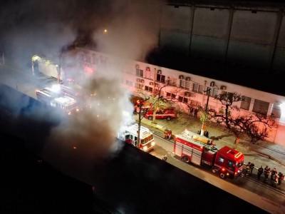 Galpão da Cinemateca Brasileira foi incendiado na última quinta-feira, 29 de julho