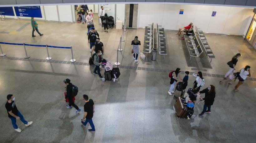Aeroporto de Fortaleza(foto: Aurelio Alves)