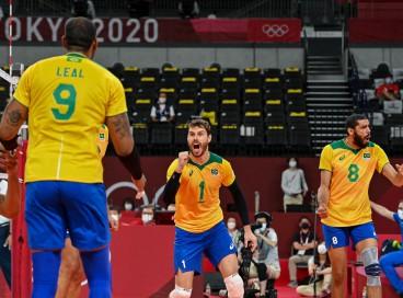 Brasil caiu no Grupo B do Mundial de vôlei masculino de 2022