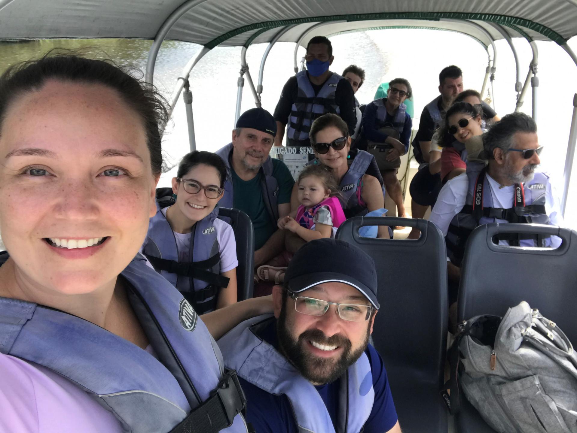 Mayra Guedes e família voltaram a viajar me julho de 2021 para os Lencois maranhenses. Pauta retomada do turismo