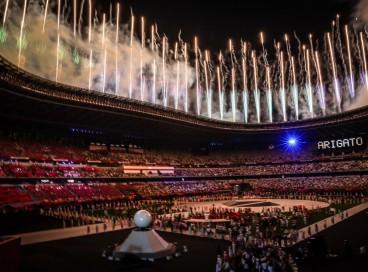 08.08.2021 - Jogos Olímpicos Tóquio 2020 - Cerimonia de encerramento dos jogos olímpicos de Tokyo