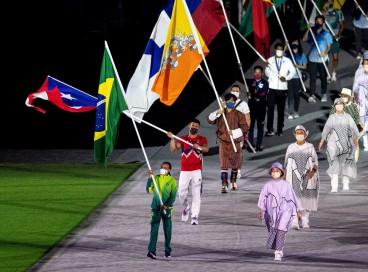 08.08.2021- Cerimônia de Encerramento dos Jogos Olímpicos de Tóqui 2020.