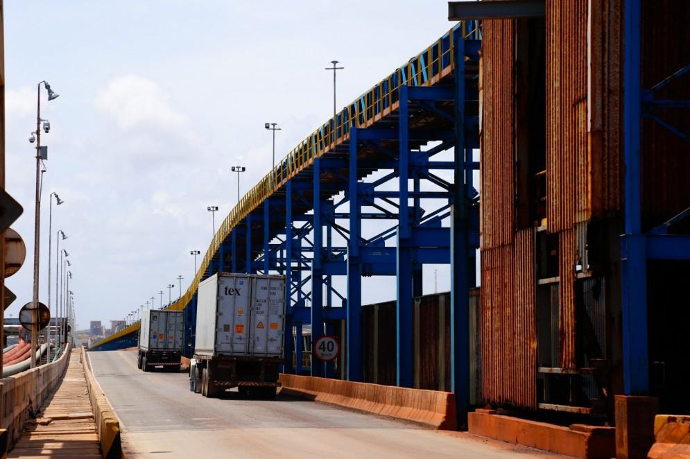 Área do Terminal de Múltiplo Uso do Complexo do Pecém(Foto: Divulgaçao)