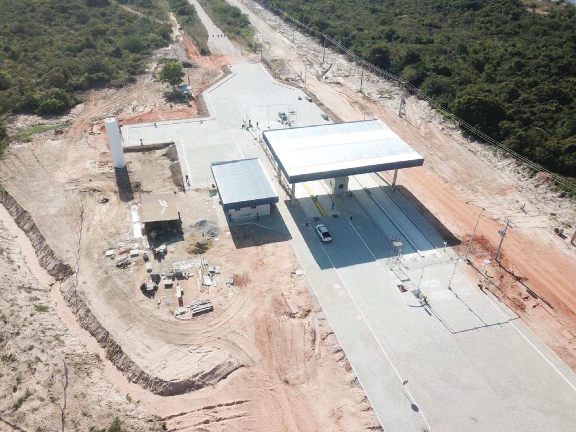 Local onde funcionará o hub do hidrogênio verde do complexo do Pecém (Foto: Divulgaçao)