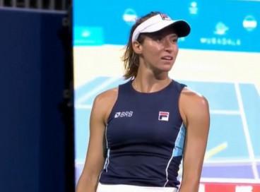 A tenista Luisa Stefani, bronze nas Olimpíadas de Tóquio, foi vice-campeã no WTA 500 de San Jose, na California