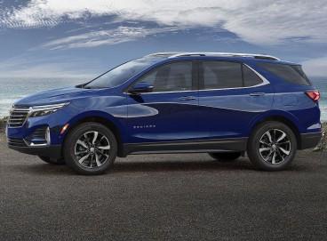 A versão 2022 do novo Chevrolet Equinox deve vir mais equipada. Chegará no fim do ano às concessionárias.