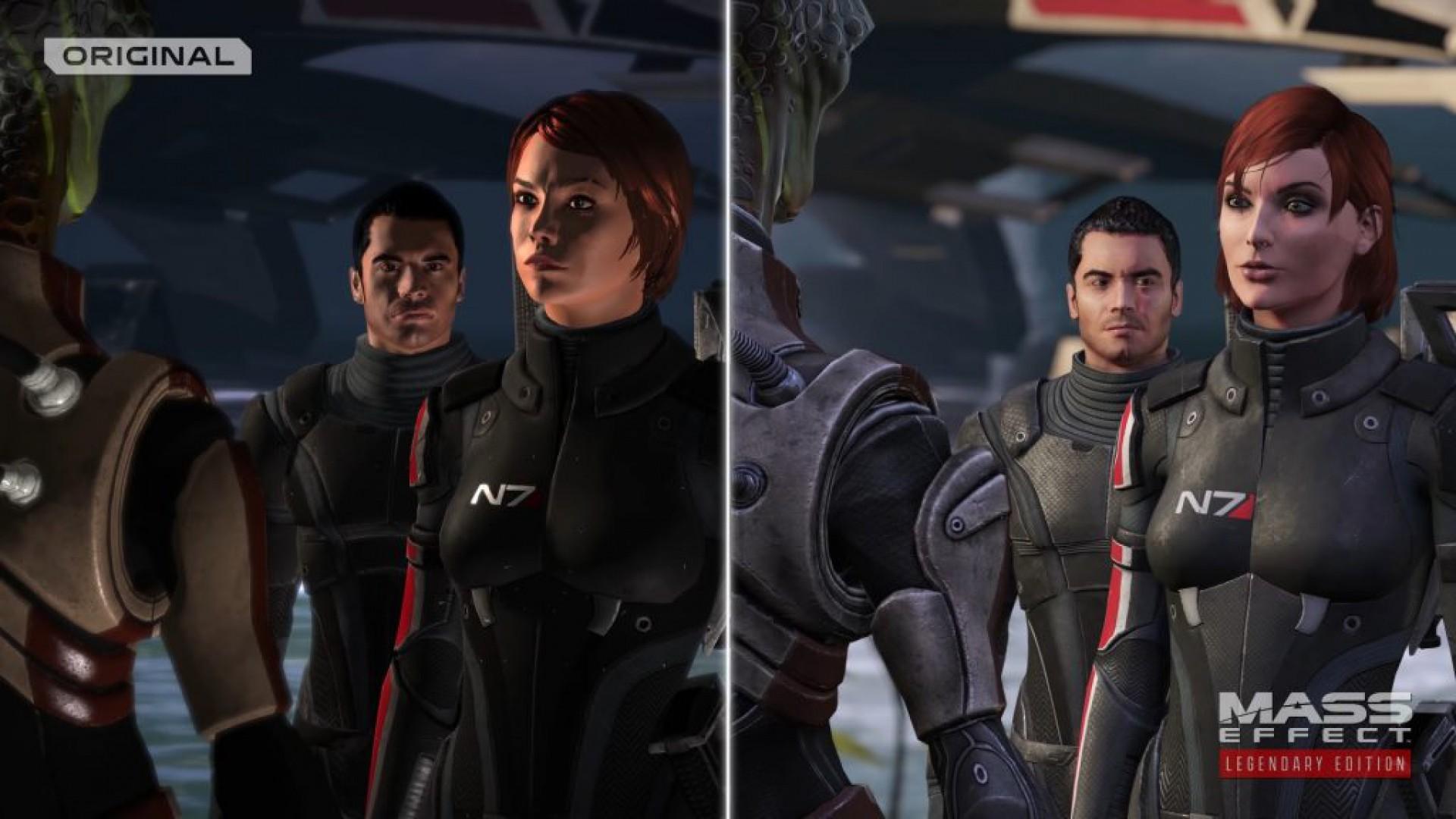 Mass Effect Legendary Edition: comparação entre antiga e atual versão