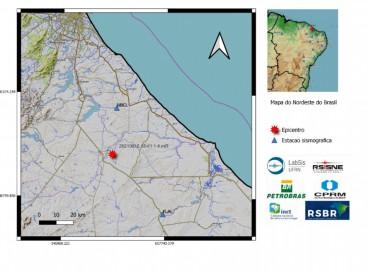 Ultimo evento registrado no Ceará foi no município de Maranguape. Nesta segunda, 16, tremor foi notificado em Beberibe, por volta das 10h41min