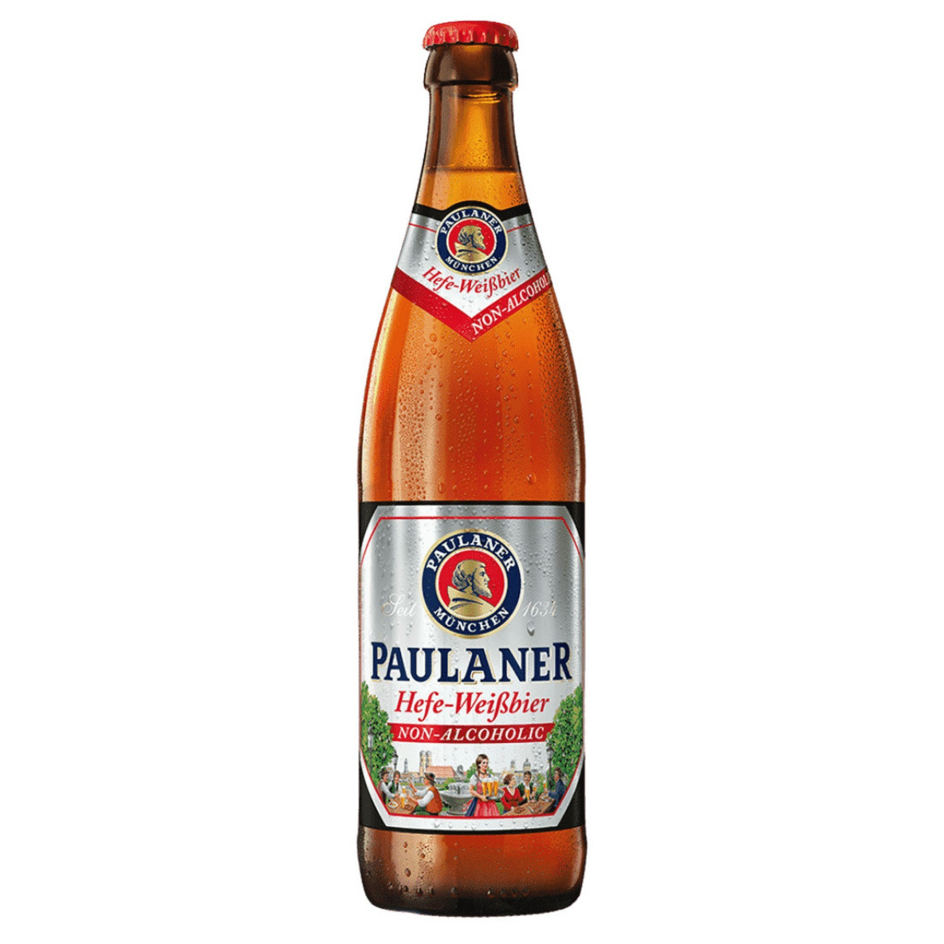 (Foto: Reprodução/Internet)Cerveja sem Álcool Paulaner Hefe Weissbier Garrafa 500ml - R$ 21,90 (iFood)