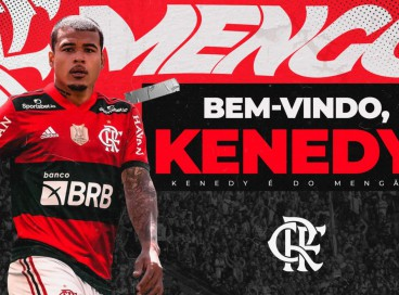 Atacante Kenedy é o novo reforço do Flamengo