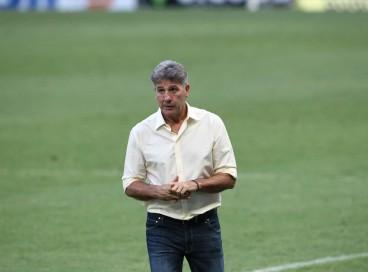 Técnico Renato Gaúcho concedeu entrevista coletiva após empate entre Ceará e Flamengo
