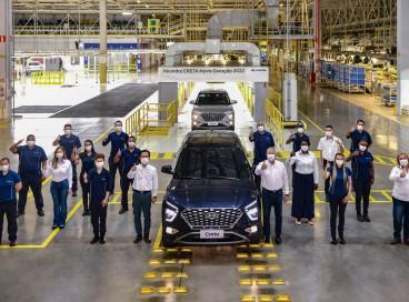 As primeiras unidades foram montadas nesses dias na fábrica da Hyundai em Piracicaba (SP)
