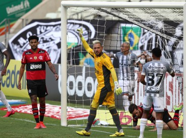 Último gol do Ceará no Brasileirão, na 17ª rodada, contra o Flamengo