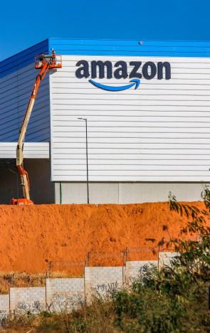 Itaitinga, Ce, BR - 26.08.21 Obras no centro de distribuição da amazon no Ceará (Fco Fontenele/O POVO)(Foto: FCO FONTENELE)