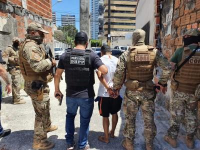 Prisão de suspeito realizada esse mês pela SSPDS